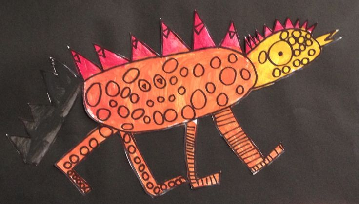 Painted Lizards and Dragons Grade 1