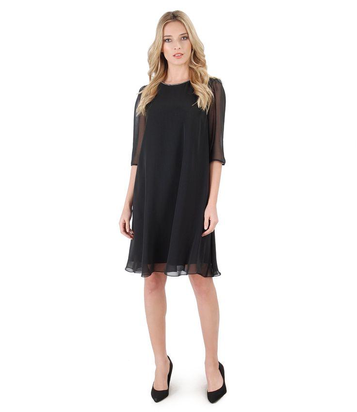 Party in black  SPRING17 |YOKKO #dress #lbd #veil #black #dance #party #women #fashion #style #spring17 #beauty #yokko