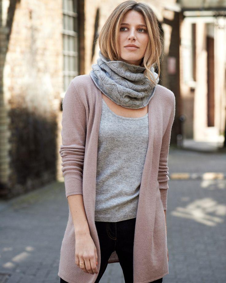 Gassato Cashmere Longline Cardigan   Finest Cashmere Clothing   Pure Collection