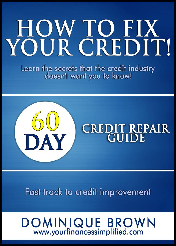 A plan to help you improve your credit in just 60 days. Easy to follow!