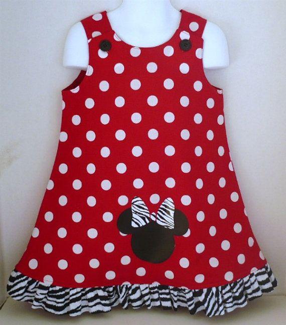 Minnie Mouse Aline Dress