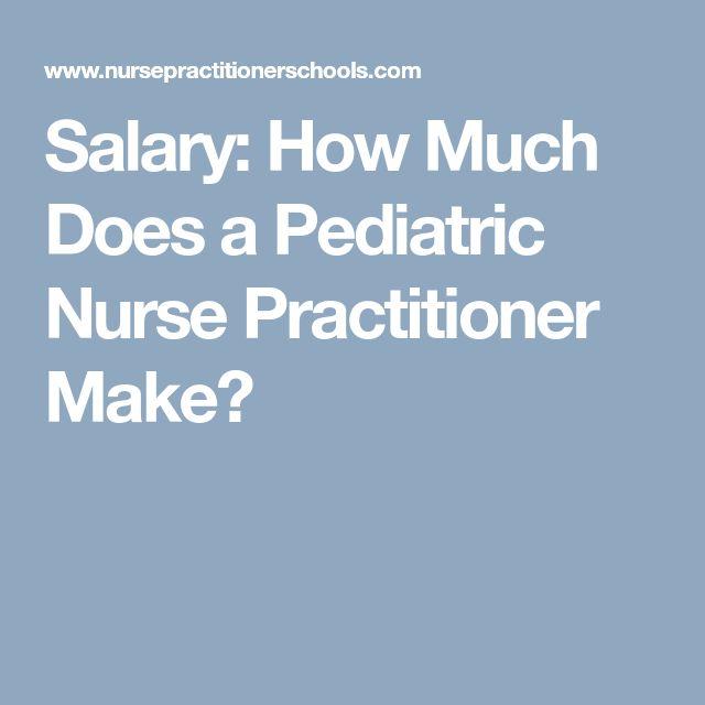 Best 25+ Pediatric nurse salary ideas on Pinterest Pediatric - pediatric oncology nurse practitioner sample resume