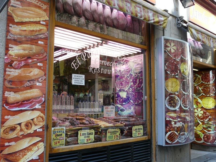 bocadillos´shop, Madrid