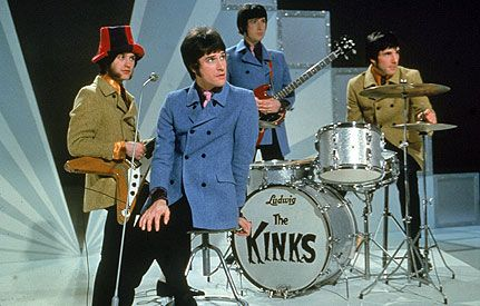 People forget how influential the Kinks (aka..the Davies brothers) were..and in a way still are.