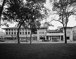 Park Inn Hotel Mason City IA  Frank Lloyd Wright designed 1910