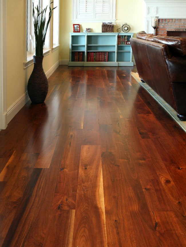 Walnut Old Growth Flooring
