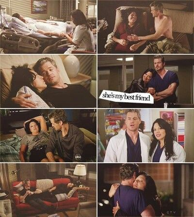 Grey's anatomy Callie Torres and Mark Sloan