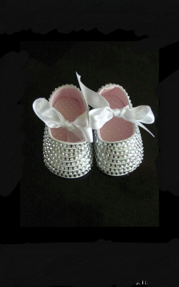 908522bb4b13 bedazzled shoes baby bling princess shoes by kendrascreativeideas ...
