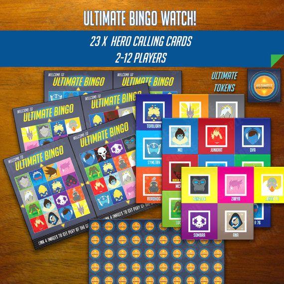 Overwatch-Inspired Ultimate Bingo!