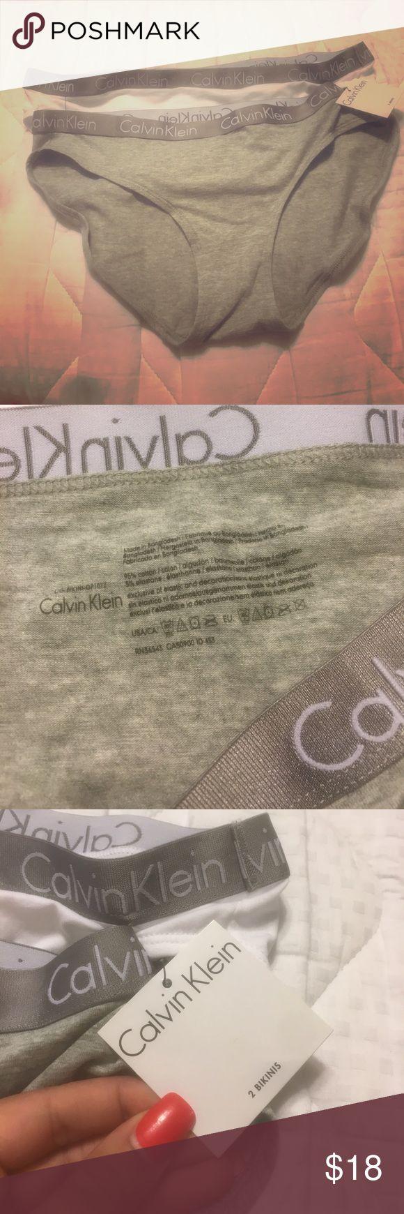 Calvin Klein Bikini Underwear Set Set of 2 bikinis. 95% cotton, 5% elastane. Calvin Klein Underwear Intimates & Sleepwear Panties