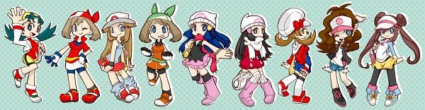 Female Pokemon Trainers Panty and Stocking style!