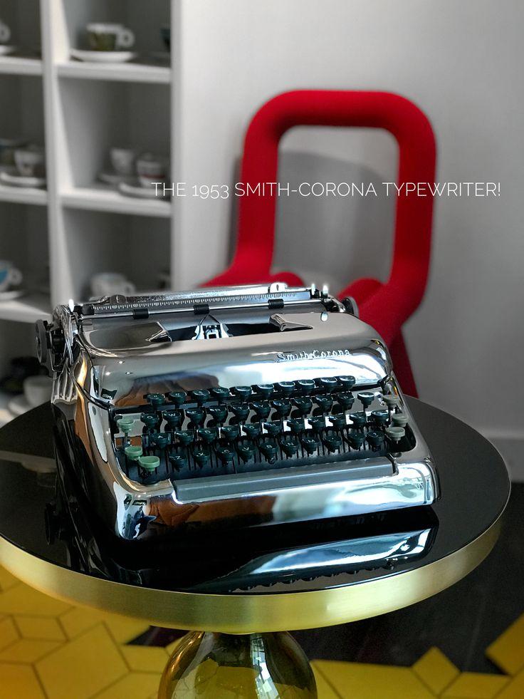 1953 Smith-Corona typewriter
