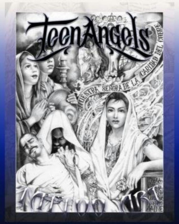 Theme, angel magazine teen chicano prison art authoritative point