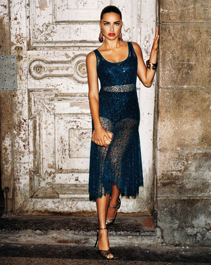 Joan Smalls and Adriana Lima hit Havana, Cuba for W Magazine's September issue. See more on wmag.com.