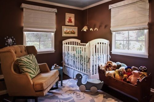 Stuffed animals stored in cradle!