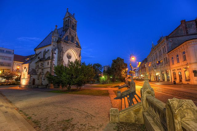 Miroslav Petrasko Blue Hour in Kosice The center of Kosice give many great photo opportunities.