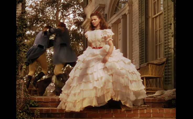 this dress from the movie Gone with the wind.
