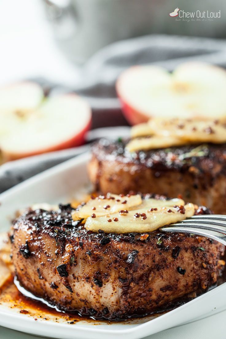 Saucy Maple Apple Pork Chops How To Select And Prepare