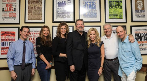 Glen Campbell Photos Photos - (L-R) Curator of Country Music Hall of Fame Michael Gray, Singer/Songwriter Matraca Berg, Laura Savini, Jimmy Webb, Kim Campbell (Wife of Glen Campbell), Dickey Lee and Bobby Braddock pose backstage during Jimmy Webb Poets And Prophets Session at Country Music Hall of Fame and Museum on April 29, 2017 in Nashville, Tennessee. - Jimmy Webb Poets and Prophets Session