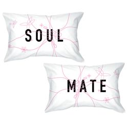 Soul Mate Pillow Cases - they go together