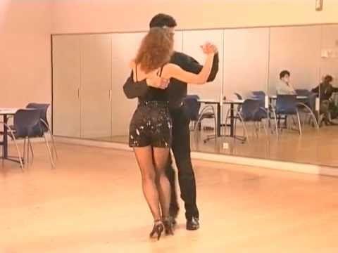 Cours de tango Argentin Milonga (8/9) - Chassés avec Huits arrières - YouTube