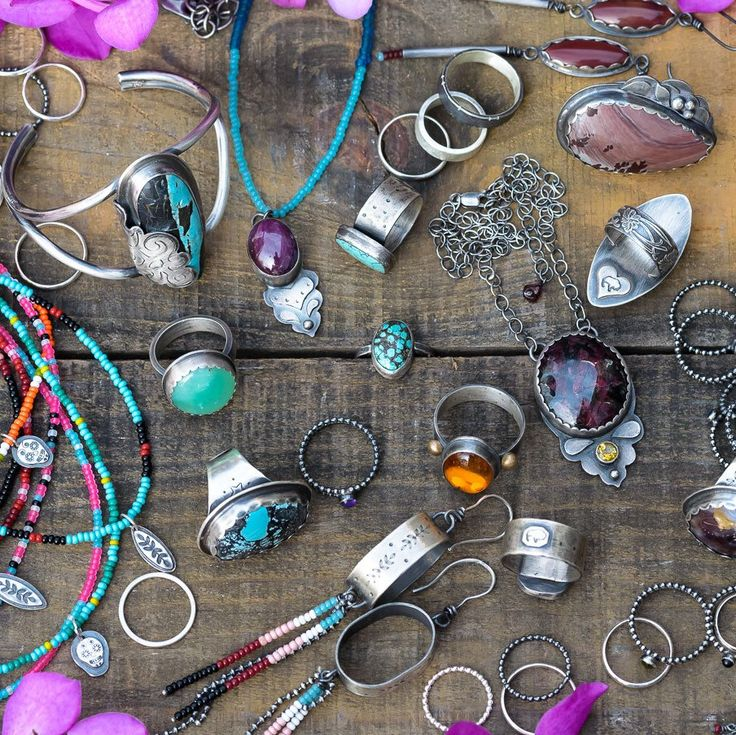 BuffaloLucy on Etsy - Gearing up for the holidays! #buffalolucy #handmade #jewelry #silver