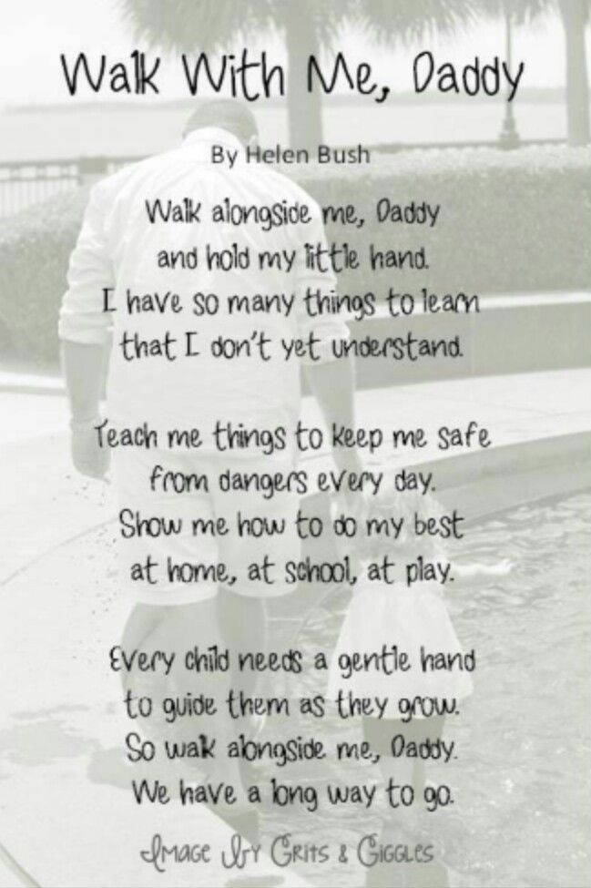 Outdoor Dad Poems - Google Search