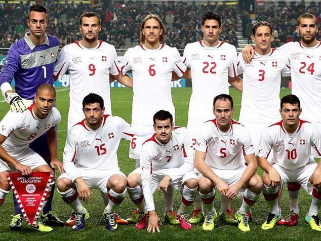 World Cup 2014 - Switzerland Team