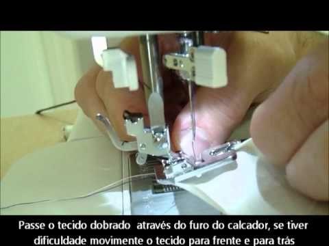 ▶ Demonstração do Pé Calcador Bainha Estreita - YouTube