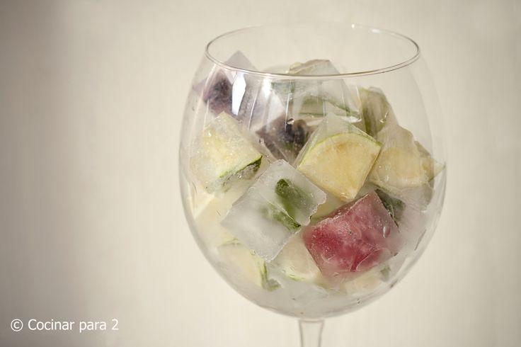 Gel de fruites i gustos diferents