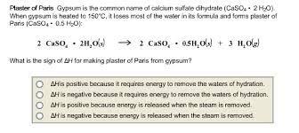 plaster of paris chemical formula - Google Search