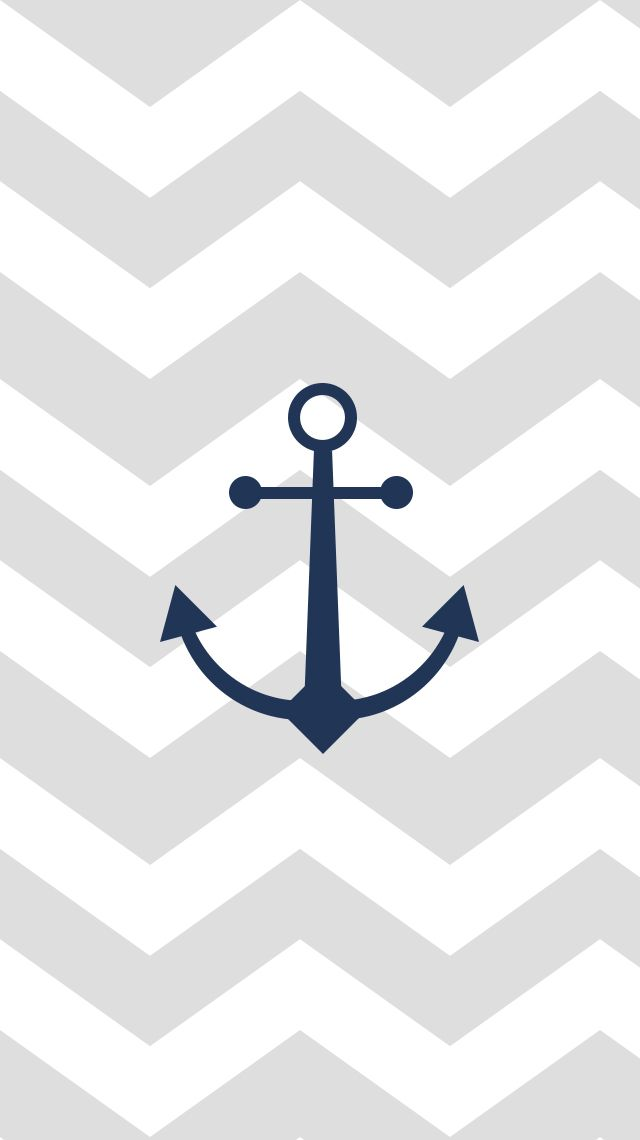 Download a chevron patterned #anchor #wallpaper on mfcreative (End Of Summer Phone Wallpapers)