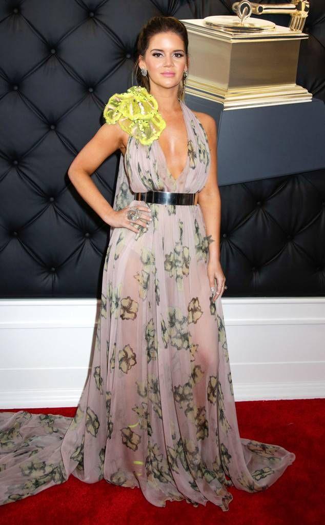 Maren Morris From 2019 Grammys Red Carpet Fashion Red Carpet Fashion Fashion Hot Fashion