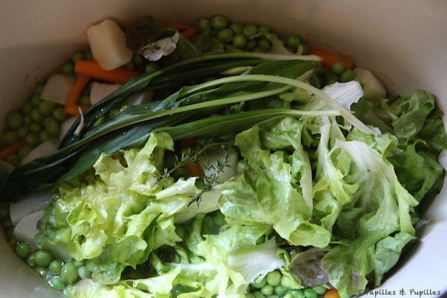 Tous les légumes dans la cocotte