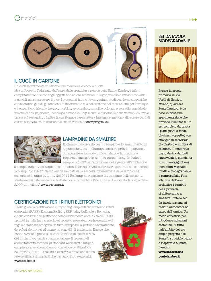 Casa Naturale - april Twin design Studio Kuadra www.iProgetti.eu