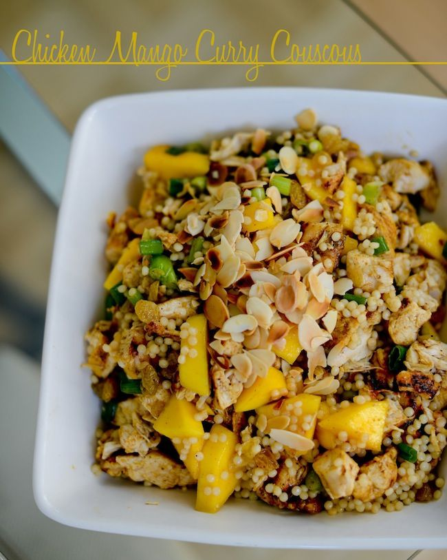 Easy recipes for chicken and couscous