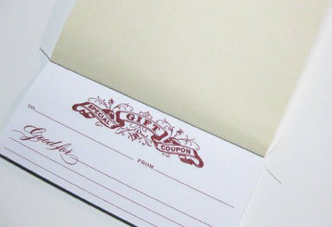 Perfect for last minute gift ideas- especially for people impossible to buy for! gift certificate free printables