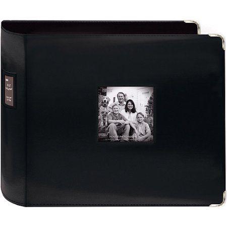 Pioneer Stitched Leatherette 3-Ring Scrapbook - Walmart.com