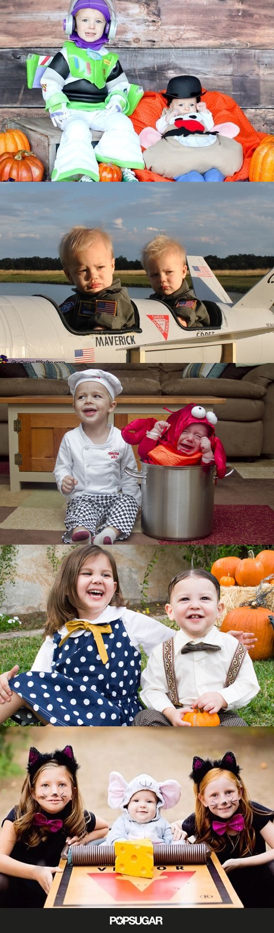 Win Halloween With These 41 Sibling Costume Ideas