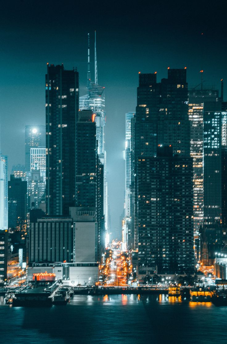 42nd St by @kostennn | newyork newyorkcity newyorkcityfeelings nyc brooklyn queens the bronx staten island manhattan