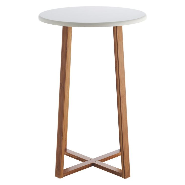 25 b sta tall side table id erna p pinterest for Tall white end table