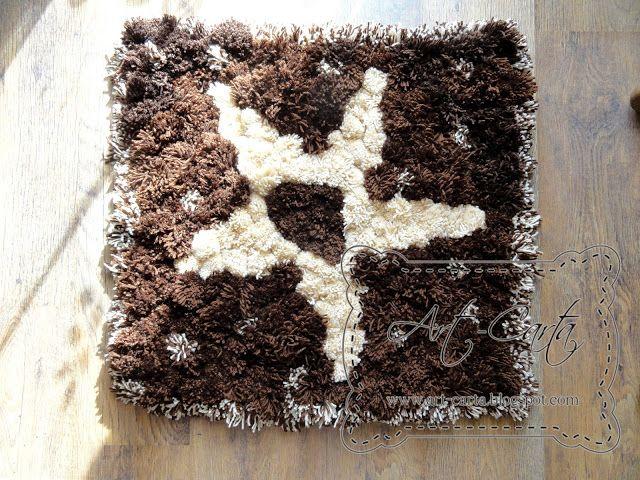 Art-Carta : Pomponikowy dywanik
