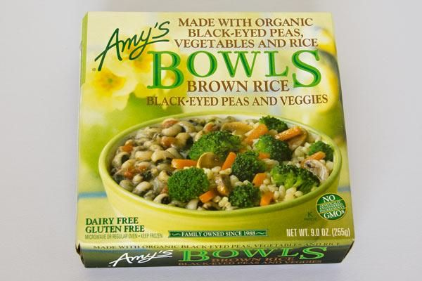 {Amy's Brown Rice and Black Eyed Pease} - {Best Frozen Foods For Weight Loss} - #ReImagineDieting Sign up for more weight loss ideas like this at fullplateliving.org