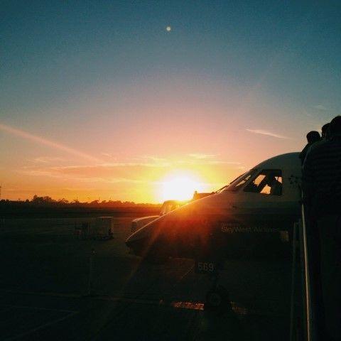 Just GO. Every time.   Santa Barbara Airport, California