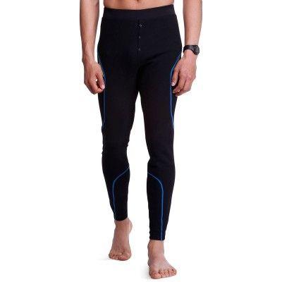 Ski_Kleding Sportkleding - Thermobroek Xwarm heren zwart WED'ZE - Ondergoed Heren
