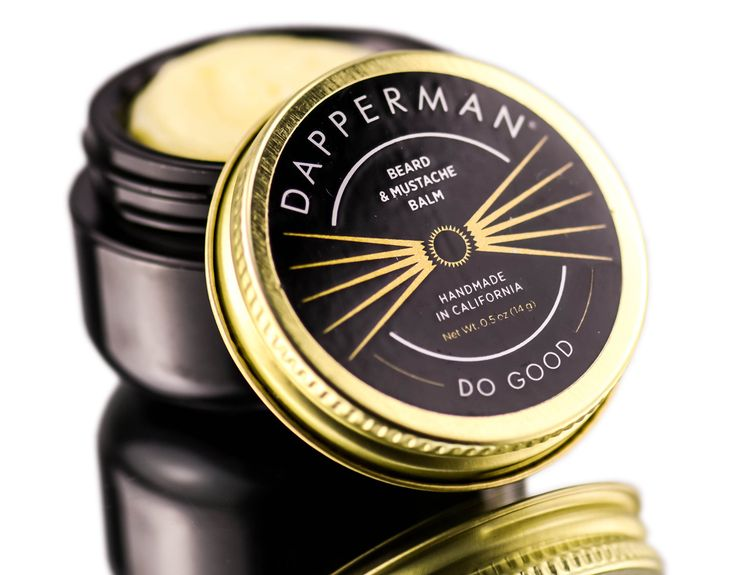 Dapperman Naturally Derived Beard Balm 0.5 oz Beard