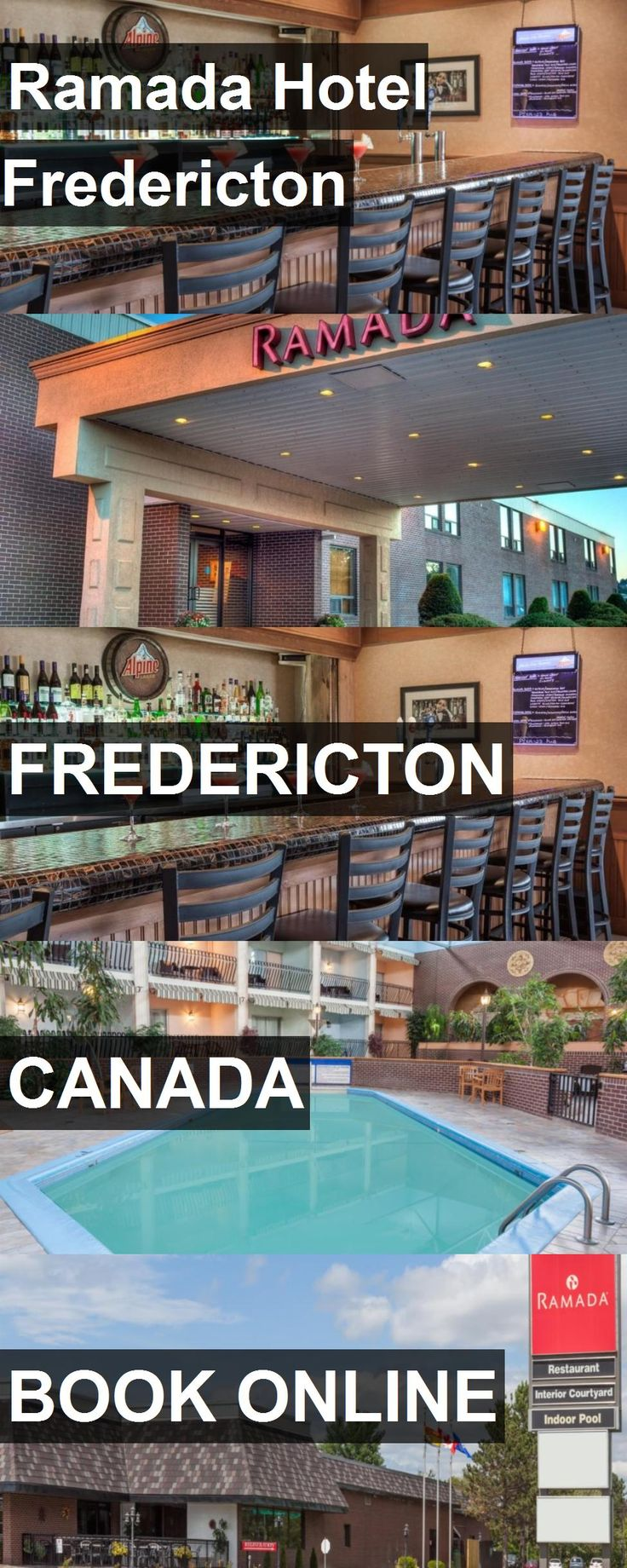 Ramada Hotel Fredericton in Fredericton, Canada. For more information, photos, reviews and best prices please follow the link. #Canada #Fredericton #travel #vacation #hotel
