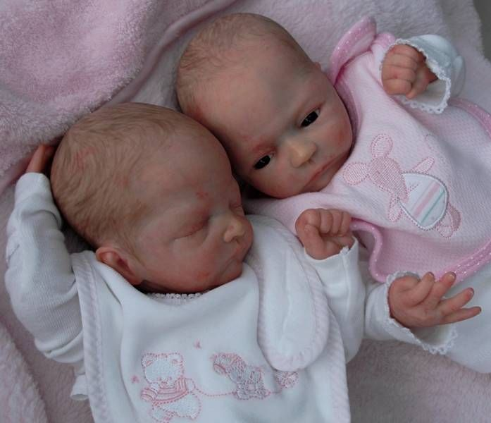 Baby Doll twins