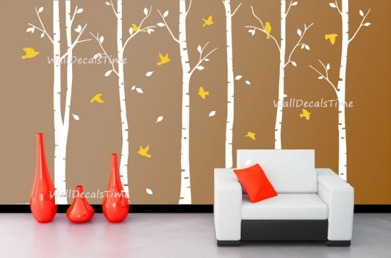 Tree Wall Decals Removable Vinyl Decal Wall by WallDecalsTime, $89.00: Dining Rooms, Wall Decor, Decor Wall, Decor Decals, Decals Wall, Wall Stickers Trees, Nurseries Wall Decals, Trees Wall Decals, Accent Wall