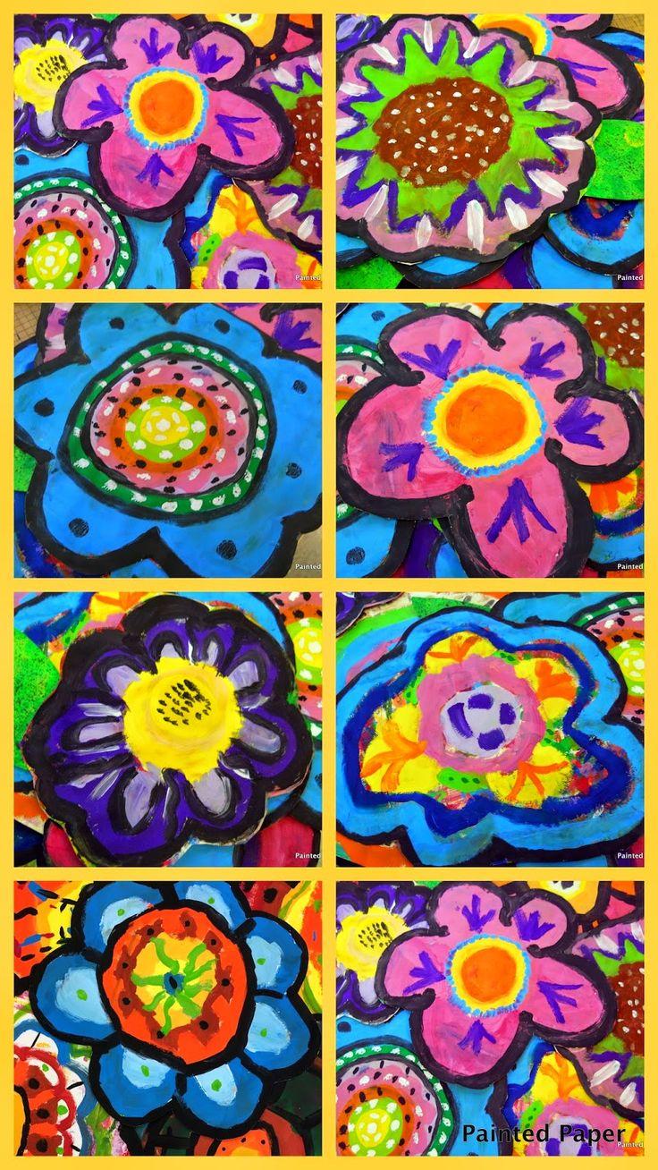 355 best images about preschool art painting on pinterest - Maltechniken kindergarten ...